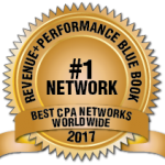 Clickbooth Ranked the #1 CPA Network  by mThink BLUE BOOK
